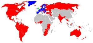 Страны откуда нет экстрадиции в россию