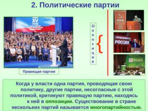 Как организовать партию в россии