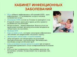 Инфекционной медсестры сопы кабинетной