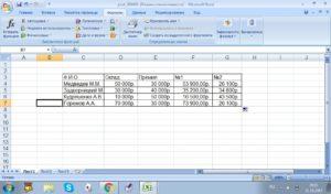 Как рассчитать премию от оклада в эксель формула