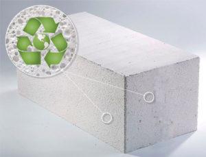 Наносит вред блок из ячеистого бетона для здоровья человека