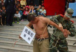 Наказание за кражу в китае по закону