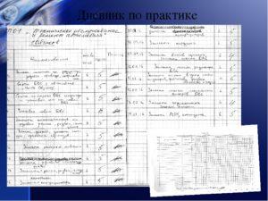 Дневник производственного обучения образец заполнения на электрогазасварщика
