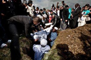 Как используют оставшиеся принадлежности после похорон у мусульман